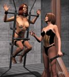 Ladies of dA - Mistress Brenda and Allie Darkfold by Driver651