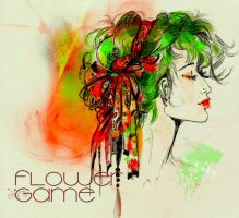 Flower Game by clairegraphic