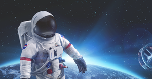Astronaut suit 3d model by radoxist
