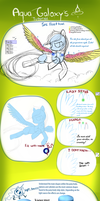 MLP pony tutorial by AquaGalaxy