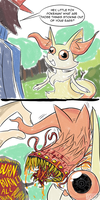 OH LOOKY HERE A POKEMANS COMIC by MichaelJLarson