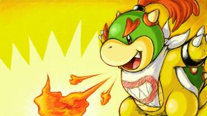 bowser jr by Peegeray