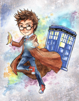 Doctor Who by BlackMayo