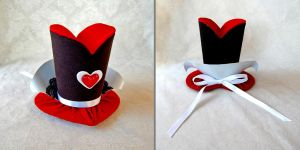 Tiny Top Hat: The Queen of Hearts by TinyTopHats