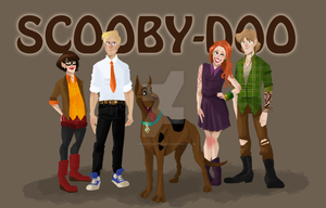 Scooby Doo by TopHatTurtle