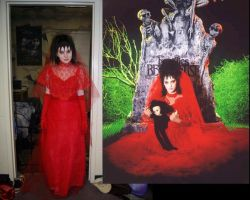 Lydia Deetz Wedding Costume by EmilyScissorhands