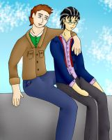 Theo and Jake for Ket by Phoneix-Faerie