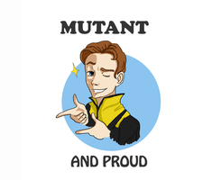 Mutant and Proud by tangerine-skye