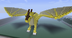 Minecraft Statue - Charuck by Adreos