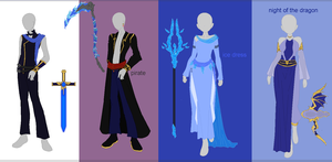 Dresses adopt nr 3 open by kittenAX