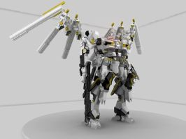 Armored Core Noblesse Oblige by CommanderAlpha