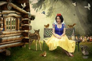 Snow White: Forest Fairy by Hello-Yuki