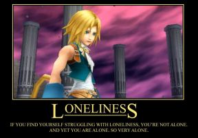 Dissidia - Lonliness by TheFavs