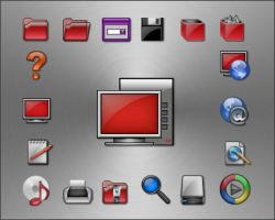 Baron Red icons by apbaron