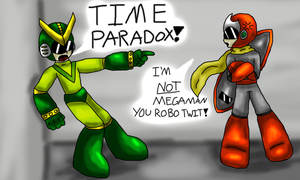 Time Paradox by Jadealen-Dragon
