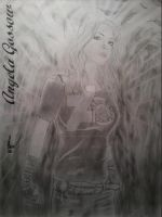 Angela Gossow from the band Arch Enemy by AfflictionArt