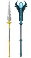 Monolithic Staff (SoL Aesthetic Reward) by Halfingr
