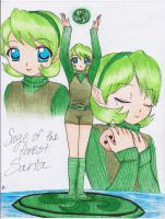 Sage of the Forest Temple by xXANJUXx13
