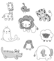 Animals by Kyo-Chii