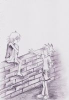 riku and sora by margarethere