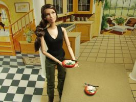 1:6 Scale Chicken Pho Soup for Two Playscale by BeautifulEarthStudio