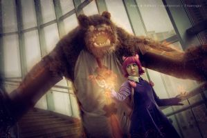 Annie and Tibbers by Tailstastic