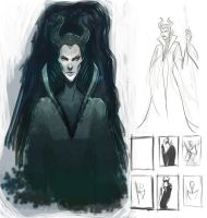 Maleficent_001 by dave-m-go