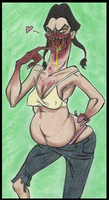 L4D2: Sexy spitter by Cageyshick05