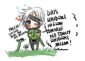Snake wants Raiden's melon by suzanna8767