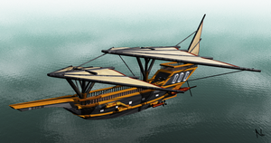 Airship 3D by Natal-ee-a