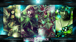 4 vert sig-s PSD pack by WorkingClassHero93