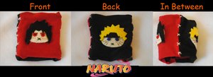 Naruto wristbands by Kuro-x-Sora
