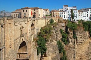 The Bridge of Ronda by AgiVega