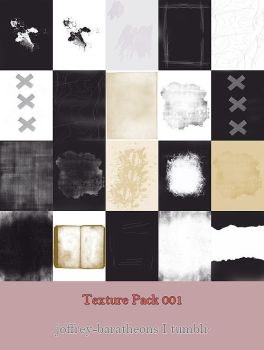 Texture Pack 01 I Paper and Others by belle-liberte