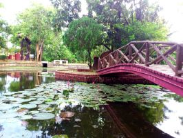 Tasik Melati park by plainordinary1