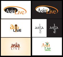 Asia Live logo 2 by Naasim