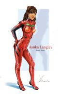 Real Asuka Langley by JesusAConde