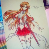 Asuna - Sword Art Oline by ilovetheanime