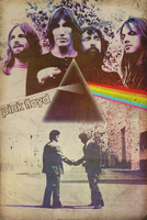 Band Poster: Pink Floyd by elcrazy