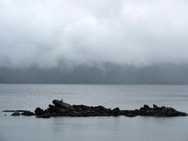 Between a Rock and a Raincloud by modestlobster