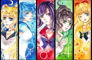 sailor stars by Cindiq
