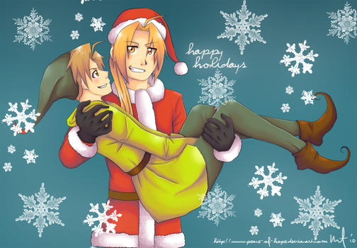Happy Holidays 2010 by peace-of-hope