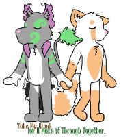 Take My Hand by ScribbleChaos
