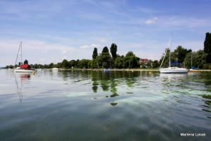 bodensee waterscape by MarlenaLphotography