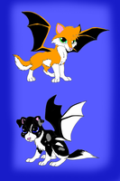 Demond fox and puppy adoptables OPEN!!! 10 points by AdoptShop429