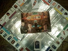 Doctor Who Monopoly by thenextdoctor42