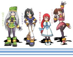 MMZX OC Girls by Shoutaro-Saito