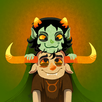 HS: The Orange and the Green by Durandana