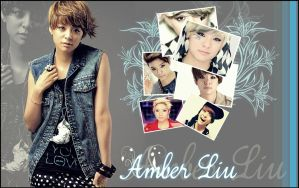 Amber Liu Wallpaper by SNSDLoveSNSD