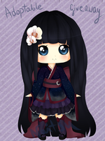 Adoptable giveaway! [CLOSED][WINNER] by naitsuko